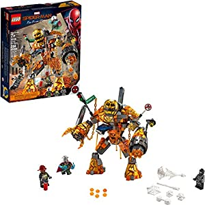 LEGO Marvel Spider-Man Far From Home: Molten Man Battle 76128 Building Kit (294 Pieces) - 51uw5oqxJjL - LEGO Marvel Spider-Man Far From Home: Molten Man Battle 76128 Building Kit (294 Pieces)