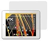 atFolix Panzerfolie kompatibel mit Archos 80 Platinum Schutzfolie, entspiegelnde & stoßdämpfende FX Folie (2X)