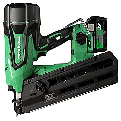 Metabo HPT 36V MultiVolt Cordless Framing Nailer | Uses 21 Degree Full Round Head Plastic Strip Nails | Includes Battery and Charger | NR3690DR
