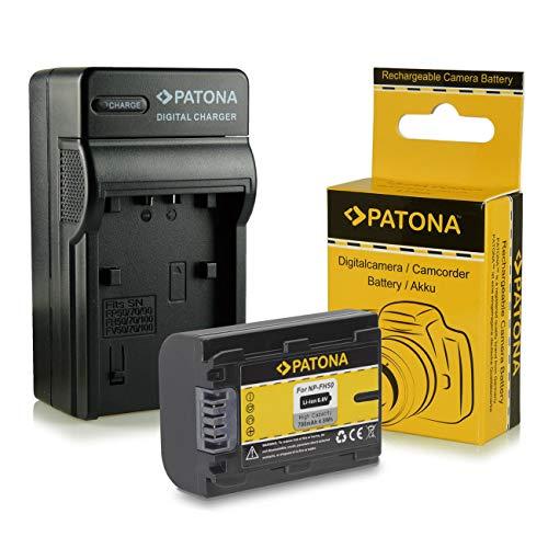 Cargador + Batería NP-FH50 para Sony CyberShot DSC-HX1 | DSC-HX100V | DSC-HX200V...