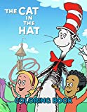 The cat in the hat Coloring Book: Jumbo Coloring Books With 50+ High Quality Images For KidsThe cat in the hat Coloring Book