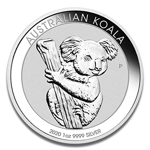 Koala 2020 Silbermünze Silber Münze 1 Unze 1 oz in Münzkapsel
