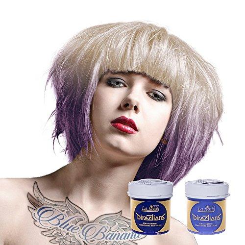 La Riche Directions Haarfarben Set aus 1x Lilac und 1x White