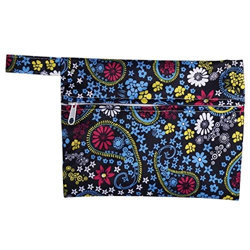 Yinhing natte tassen, herbruikbare wasbare natte tas luier pakket voor thuis reizen stijlvolle moeders Sanitary Pad Menstrual Sanitary tante pads