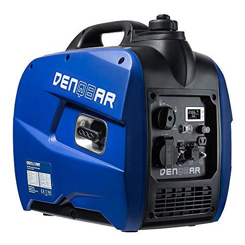 DENQBAR 2100 W Inverter Stromerzeuger Notstromaggregat Stromaggregat Digitaler Generator benzinbetrieben DQ-2100