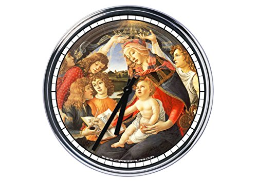 Reloj de pared Botticelli, Madonna del Magnificat