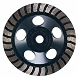 Bosch DC530H 5-Inch Diameter Turbo Row Diamond Cup Wheel with 5/8-11 Hub