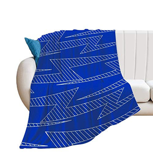 Donghouse Blanket Lightning Bolts Flannel Blanket Comfort Velvet Touch Ultra Plush, Novelty Soft Throw Blankets fit Couch Sofa Bedspread Coverlet Bed Cover 40' X 50'