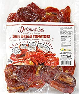 Gurme212 Delimatoes 8 oz Sun Dried Tomato Halves (Other sizes available)