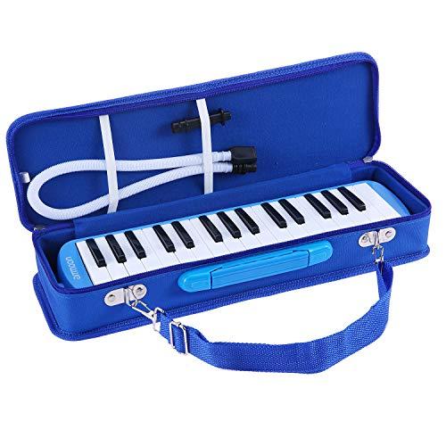Melodica 32 Teclas, ammoon con Paquete Duro Pianica Teclado