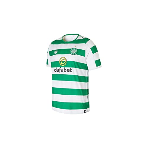 d08b7469f6b New Balance Men's Celtic Fc Home Short Sleeve Jersey