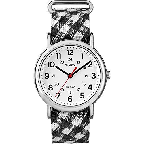 Timex Reloj analógico para Mujer de con Correa en Nailon TW2R243009J