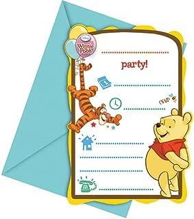 Disney Winnie The Pooh Invitations
