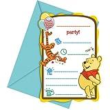 Disney Winnie-Puuh-Partymasken