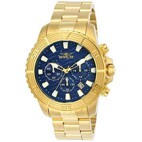 Invicta 24001 Pro Diver Reloj para Hombre acero inoxidable Cuarzo Esfera azul