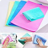 Tusig Magic Towel Reusable Absorbent Water for Kitchen Cleaning Car Cleaning , Unique Living Magic Towel, Super Absorbent, Chamois Leather Wipes(Set of 3)