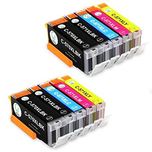 Gootior cartuccia di inchiostro di ricambio con Canon PGI570 CLI571