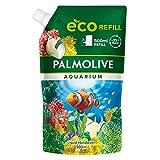 Palmolive Seife Aquarium 1 x 500ml Nachfüllbeutel, milde Seife zur sanften Reinigung der Hände, dermatologisch getestet