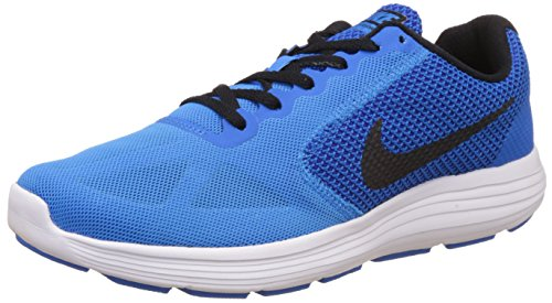 Nike Men's Revolution 3 Multisport Outdoor Shoes, Red, Azul (Photo Blue / Black-Cncrd-Pht Bl), 5.5 UK