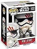 Star Wars Episode 7 - The Force Awakens FN-2187 Vinilo Bobble-Head 100 Figura de colección Standard