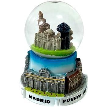 ZINGS Bola de Nieve Madrid Collage Monumentos - Pequeño: Amazon.es: Hogar