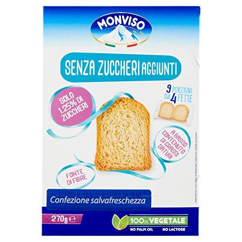 Monviso Fette Biscottate senza Zuccheri Aggiunti, 270g