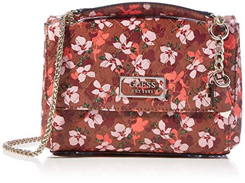 Guess Lola Convertible XBODY Flap, bolsos para Mujer, Floral, Talla única