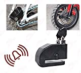 Andride Bike Security Anti Theft Alarm Sound Disk Brack Lock