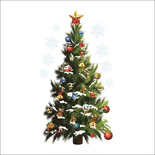DIY PVC muursticker DIY kerstboom Vinyl verwijderbare kerst thuis raamdecoratie muurstickers