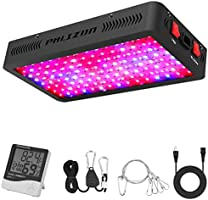 Phlizon 1200W LED Plant Grow Light,with Thermometer Humidity Monitor,with Adjustable Rope,Full Spectrum Double Switch...