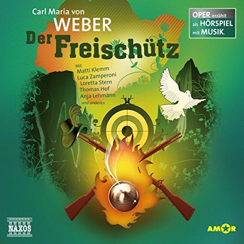 Der Freischütz audiobook cover art
