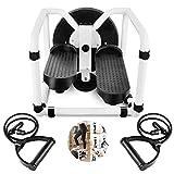 CJY-GO Mini Stepper Ajustable Stepper Air Climber Step Fitness Máquina de Ejercicios...
