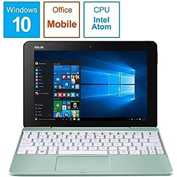 エイスース 10.1型 2-in-1 ノートパソコン ASUS TransBook T101HA ミントグリーン※ストレージ 約64GB(Microsoft Office Mobile) T101HA-64MGZP