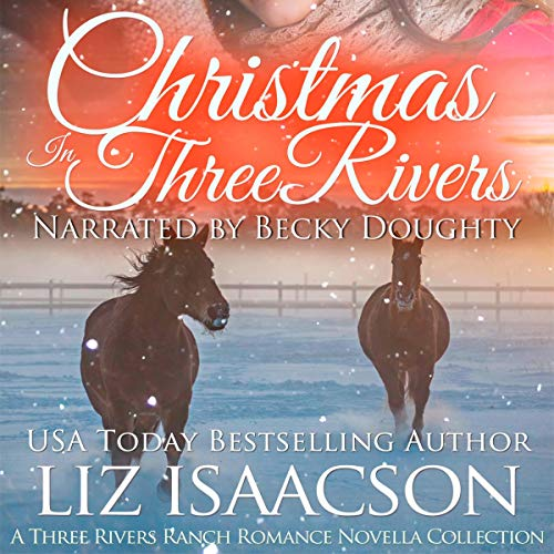 Christmas in Three Rivers Audiobook By Liz Isaacson cover art