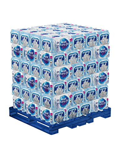 Nestle Pure Life Purified Water, 16.9oz Bottles (Pallet of 78 Cases)