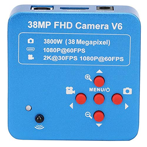 38MP Industry Camera, 1080P HDMI USB Digital Industry Video Microscope Camera, 110-240V C-Mount Electronic Industry Microscope Camera