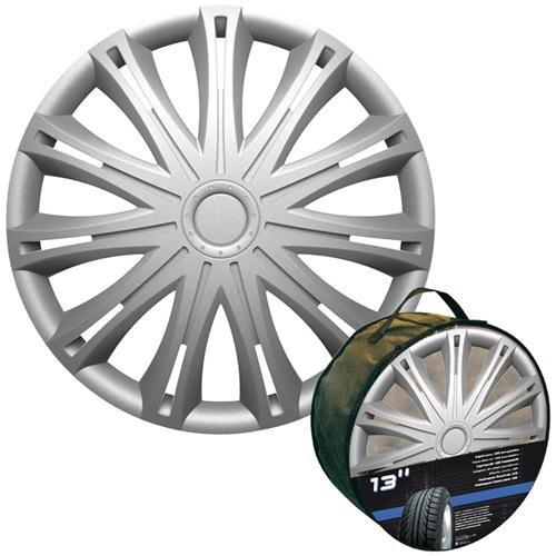 Altium 504115 Sachet 4 Enjoliveurs 15 Mod 420 Silver