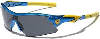 Half Frame Kids Teen Age 8-16 Performance Baseball Cycling Running Sport Sunglasses