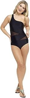 Tom Franks Womens/Ladies One Shoulder Swimsuit