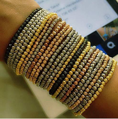 Italian Beaded Bracelet 925 Silver Louisville-Jefferson County Mall Mesa Mall Sterling