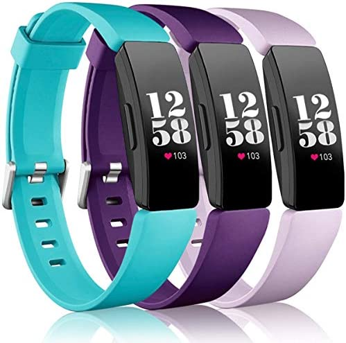 Wepro Bands Compatible Fitbit Inspire HR Inspire Inspire 2 Ace 2 for Women Men Small Replacement product image