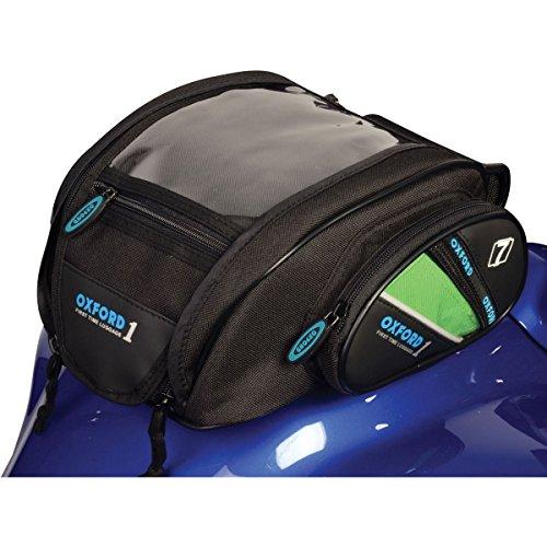 Bolsa de transporte para moto naked deportiva con imanes pequeños de gran capacidad 7 litros, funda impermeable con correa de colores intercambiables, para accesorios y bolsillo para teléfono compacto