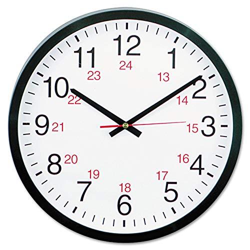 Universal UNV10441 24-Hour Round Wall Clock (1)
