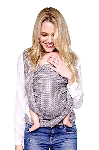 Tragetuch KOKADI® - Heart2Heart (Gr.5-4.20m) ✓ 100% Bio-Rohstoffe ✓ ab Geburt ✓ sehr kuschelig ✓ Mädchen ✓ Junge