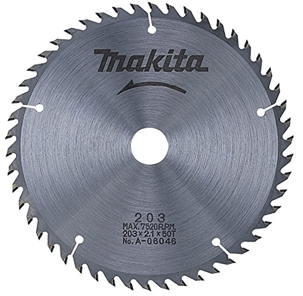 権威者ゴネリルマキタ(Makita) チップソー 一般木工用 外径203mm 刃数50T (マルノコ盤?パネルソー用) A-06046