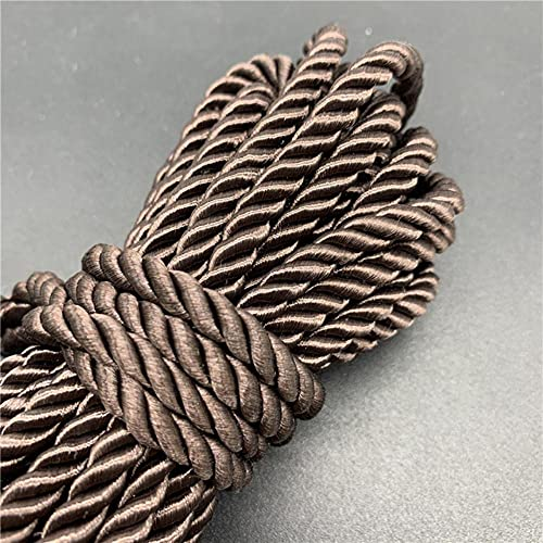 WEDSA 5yards/lote 5mm 3-Strand Paracord Cuerda Cuerda Polipropileno Decoración del Hogar Accesorios Cuerda Para Pulsera Rústica Decoración del Hogar 08