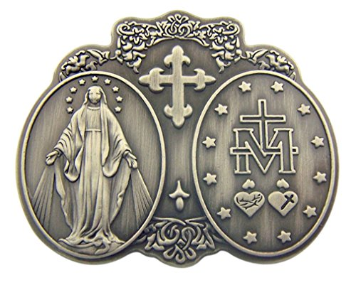 Sacred Traditions Our Lady of Grace Miraculous Medal 2 1/2