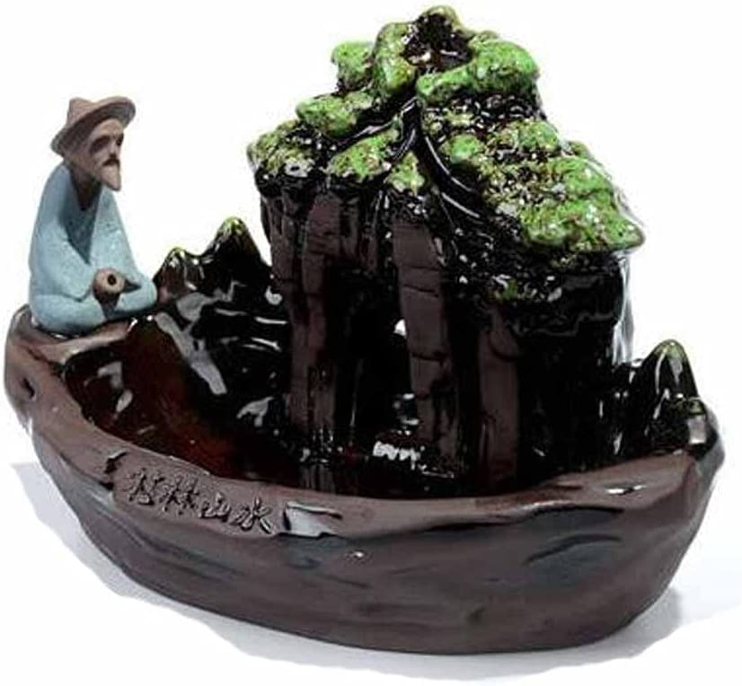 YTREI Landscape of Guilin The Old Man Fishing Cones Incense Max 65% OFF Burn Attention brand