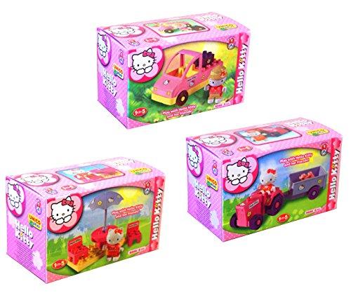 Unicoplus 8666–00HK–Display Figuren Hello Kitty (Produkt Sortiert, Motiv zufällig zwischen die 3sichtbar in Abbildung)