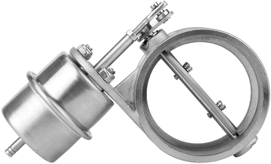 Exhaust Control Valve,304 Stainless Steel 2in 51mm Open Style Va
